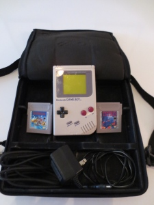 Somebody drove 2 hours to  pick this original gameboy, some people are crazy.