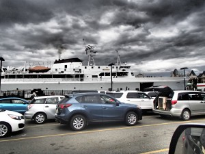 Our ferry that took us to the USA.