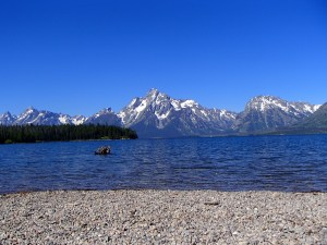 Colter Bay and the Tetons