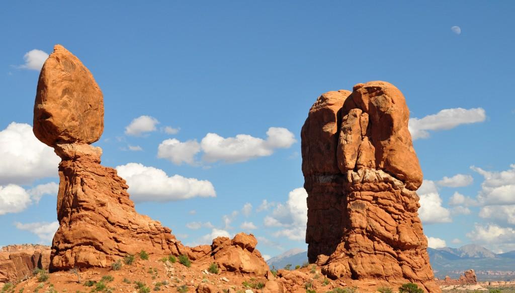 The unimaginatively named balanced rock