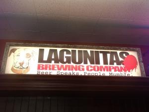 Lagunitas good beer and food
