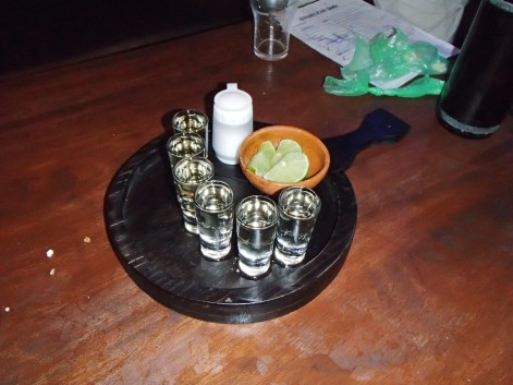 Followed by shots