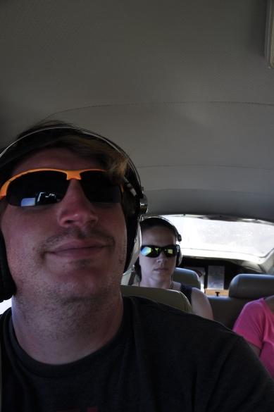 Get me off this plane-nice selfie Dan