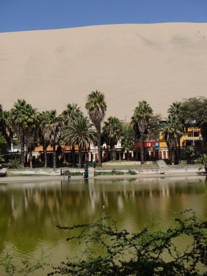 Lake and Town