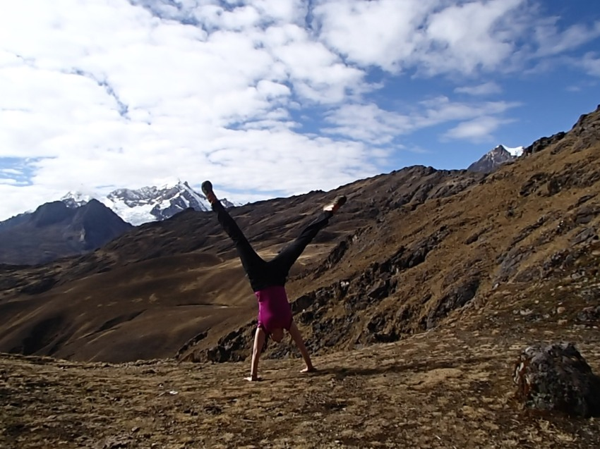 High altitude cartwheel