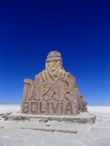 The Salar was part of the Dakar route