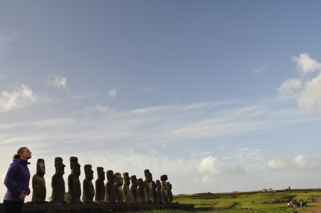 Me being a Moai