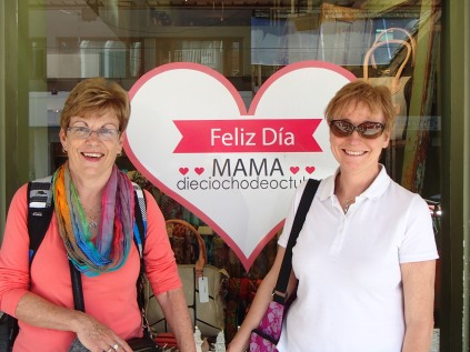 It also happened to be Argentina's Mother's Day